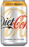 Napój Diet Coke Exotic Mango 330ml