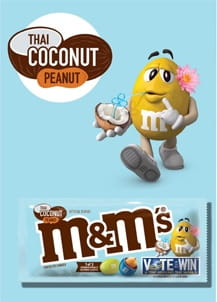 M&M's Thai Coconut - 24 SZT