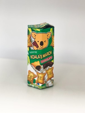 Promocja Lotte  Koala's March Chocolate 37g