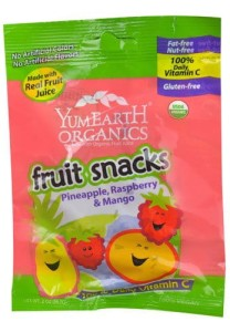 YumEarth Organics fruit snacks tropical