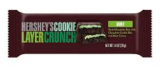 Baton Hershey's Cookie Mint Layer Crunch 39g