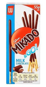 Paluszki Mikado&Go! Milk Chocolate 39g