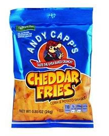 Chipsy Andy Capp's Cheddar Fries 24g