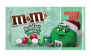 Draże M&M's Holiday Mint 80,2g