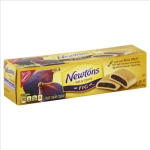Newtons Soft&Chewy Fig 184g
