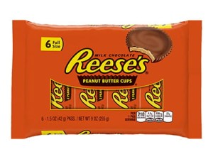Reese's 2 Peanut Butter Cups 6 Full Size 255g