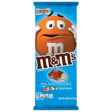 M&M's Crispy Tablet Bar White Minis