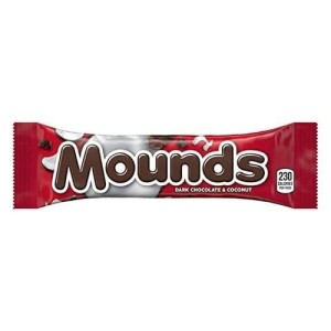 Mounds Dark Chocolate & Coconut 49g