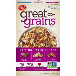 Post Great Grains Raisins, Dates & Pecans