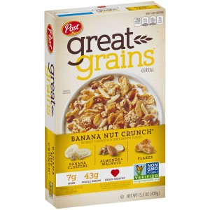 Post Great Grains Banana Nut Crunch