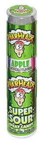 Warheads Super Sour Spray Candy - Apple