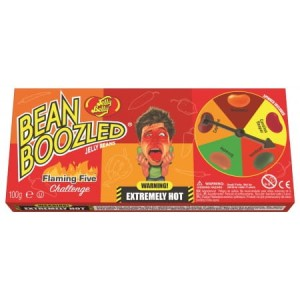 Jelly Belly Bean Boozled Flaming Five with Spinner Wheel 100g