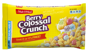 Płatki Malt O Meal Berry Colossal Crunch 652g