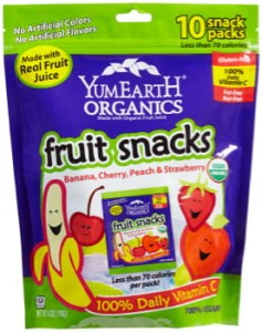 YumEarth Organics fruit snacks 176g