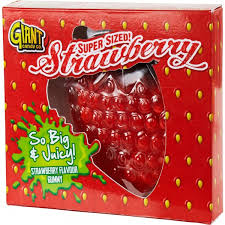 MEGA Żelek Giant Gummy Strawberry 800g