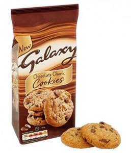 Ciastka Galaxy Chocolate Chunk Cookies 180g