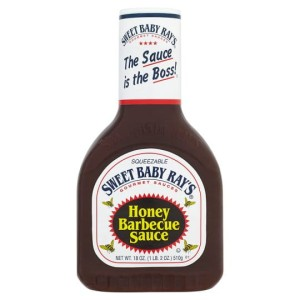 Sos Sweet Baby Ray's Honey Barbecue Sauce 510g