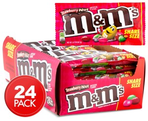 Draże M&M's Strawberry Nut 24x92,7g