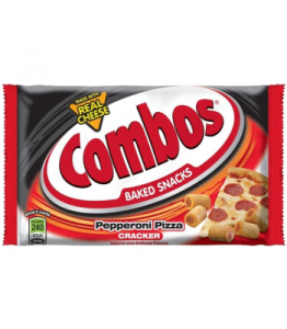 Combos Pepperoni Pizza Cracker To Go