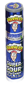 Warheads Super Sour Spray Candy - Blue Rapseberry