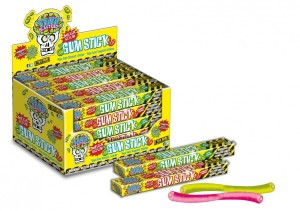 Guma Brain Blasterz Sour Gum Sticks Strawberry
