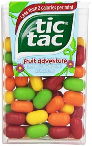 Draże Tic Tac fruit adventure