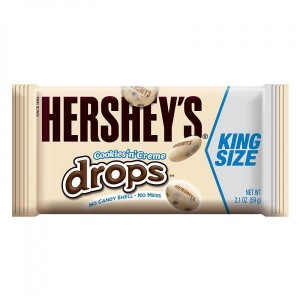 Hershey's Cookies'n'Creme Drops King Size 59g