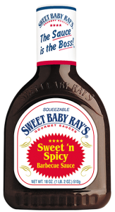 Sos Sweet Baby Ray's Sweet 'n Spicy Barbecue Sauce 510g