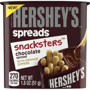 Hershey's Snacksters Chocolate Spreads & Graham Dippers