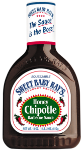 Sos Sweet Baby Ray's Honey Chipotle Barbecue Sauce 510g