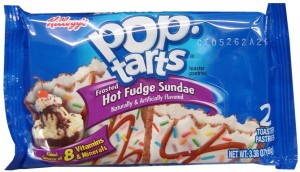 Pop Tarts Hot Fudge