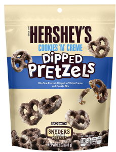 "Precle Hershey's Cookies""n'Cream Dipped Pretzels 240g"