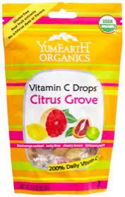 YumEarth Organic Vitamin C Drops Citrus Grove