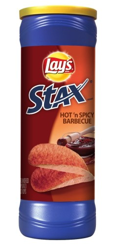Chipsy Lay's Stax HOT&SPICY Barbecue 155,9g.jpeg